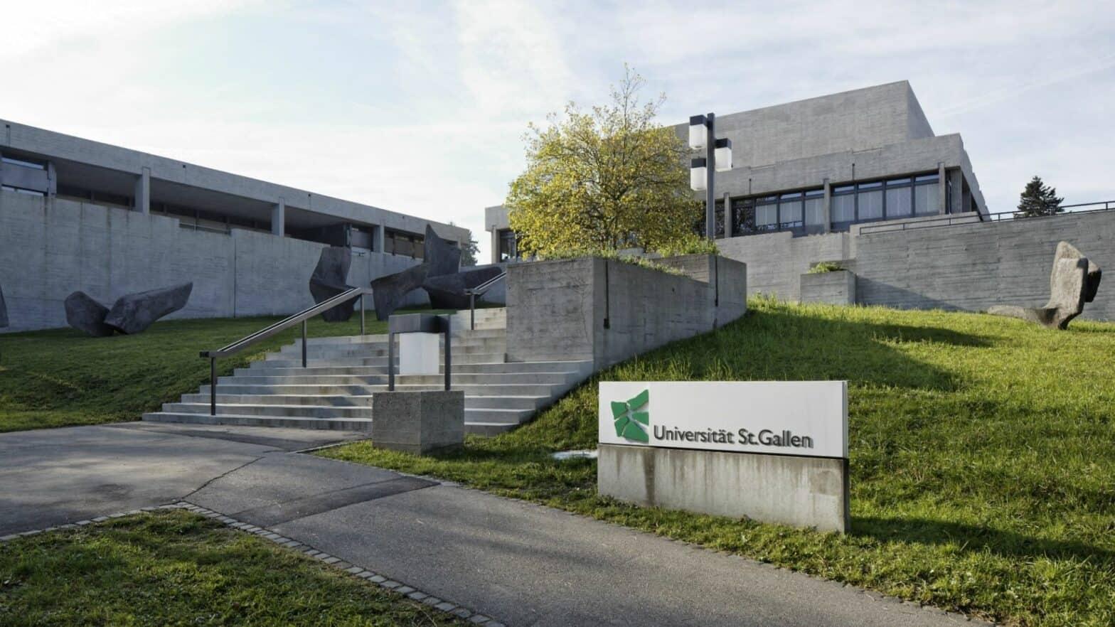 Target Unis für das Wirtschafts-Studium in der DACH-Region, HSG - Universität St.Gallen