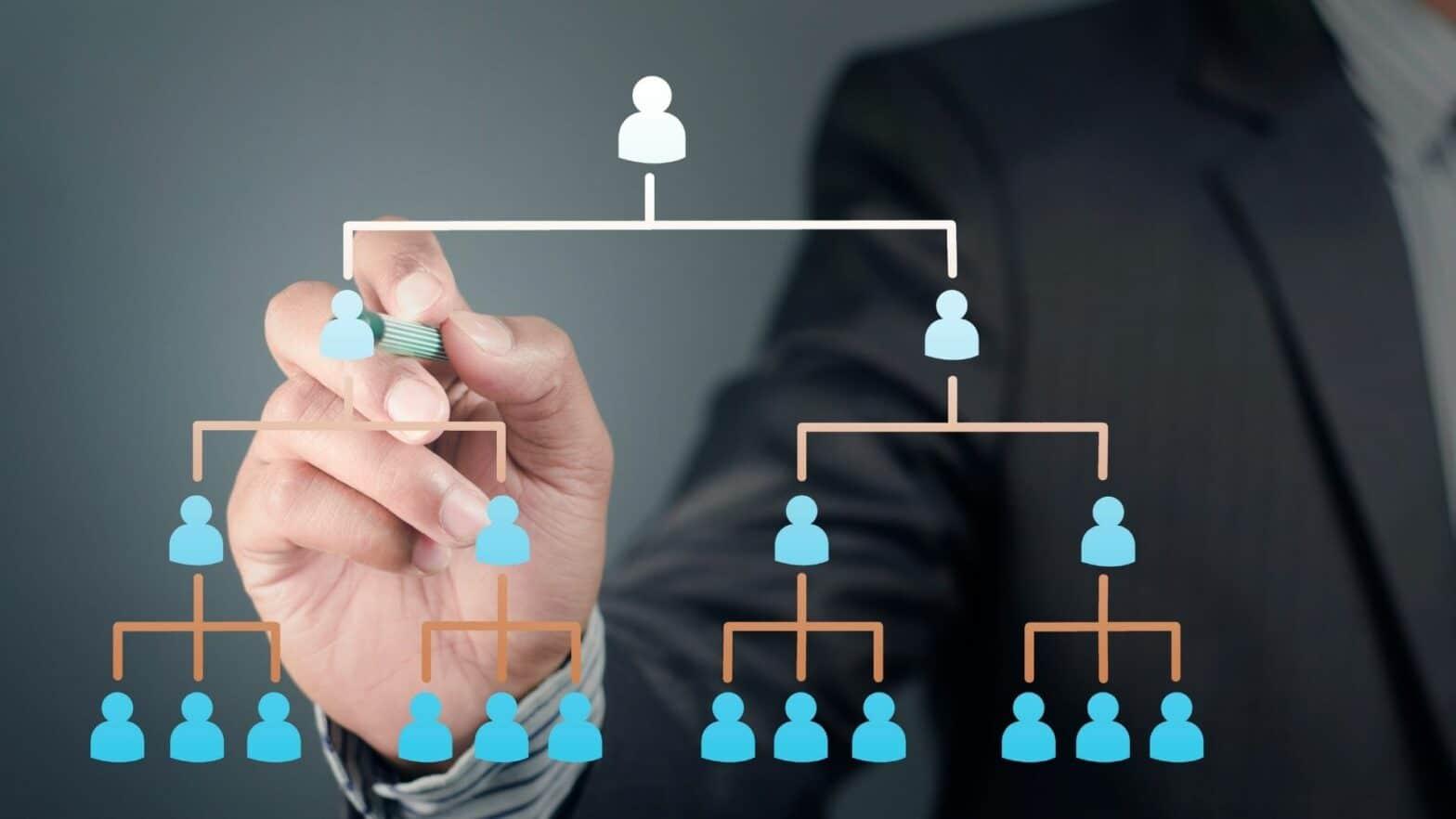 Übersicht über die Strategierberatung, Hierarchie