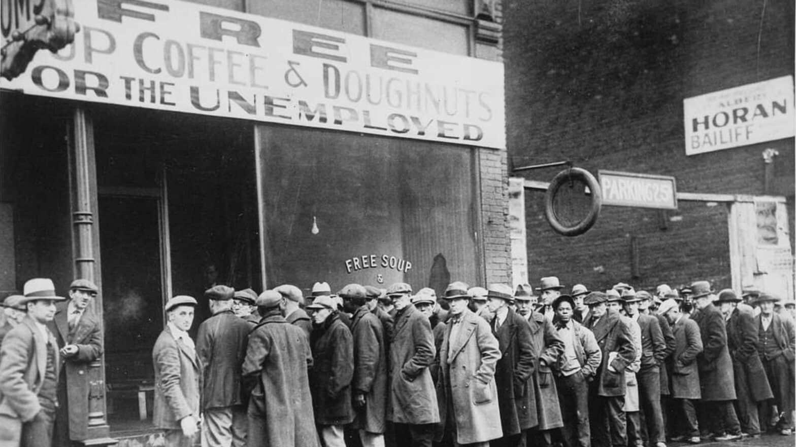 Die Geschichte von Investment Banken, The Great Depression